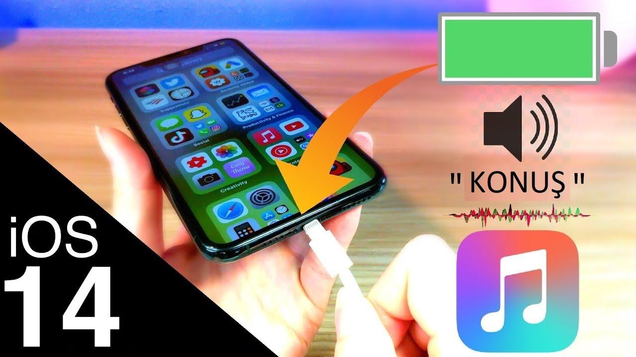 iOS 14 Şarja Takınca Konuşma Özelliği Nasıl Açılır?