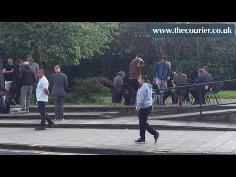Trainspotting 2 filming in Edinburgh