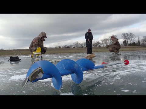 Ice Fishing In Kentucky