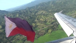 Philippine Airlines A320 Take-Off: Butuan to Manila On Beautiful Day
