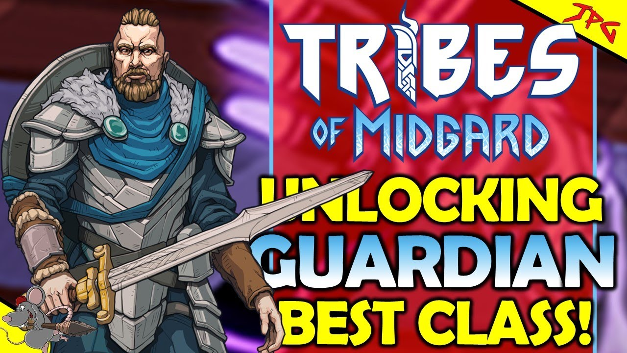 TRIBES OF MIDGARD BEST CLASS! The Guardian? Best Class For Solo So Far! Key To Sentinel Class?