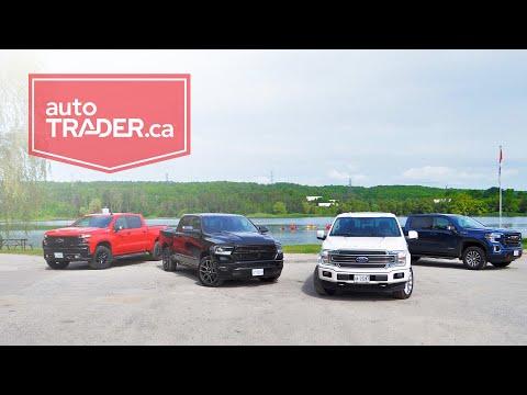 2019 Ford F-150, Ram 1500, Chevrolet Silverado, GMC Sierra Full-size Pickup Truck Comparison Test