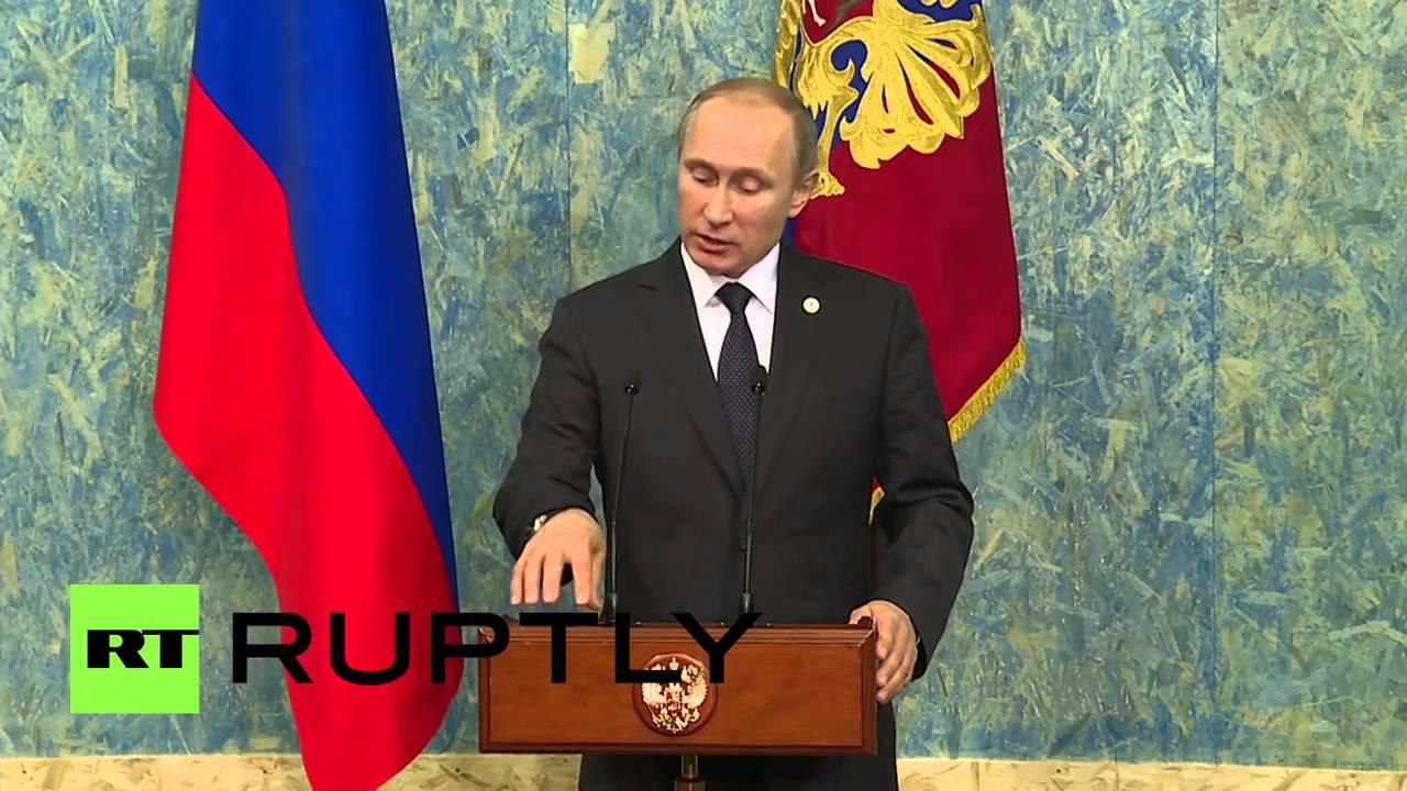 Путин  Турция сбила Су 24, чтобы обеспечить безопасность поставок нефти ИГ