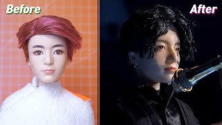 BTS x Mattel Dolls Repaint & Makeover: Jungkook of the Lotte Family Concert 2019
