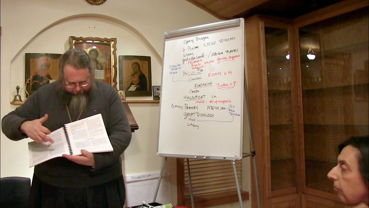 2014.11.17. The Liturgical Life of the Orthodox Church. Part IV, by Metropolitan Jonah (Paffhausen)