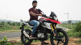 BMW G 310 GS Review - Ride Quality Is 👏🏻  | Faisal Khan