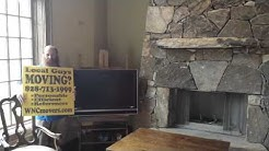 WNC Local Asheville Hendersonville Movers in Waynesville NC Great idea for a TV stand: