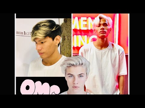 Blond  to Snow White hair transformation 2019 Mp3
