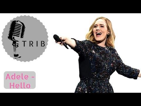 Hello by Adele (Instrumental Pop Electro Version) KARAOKE