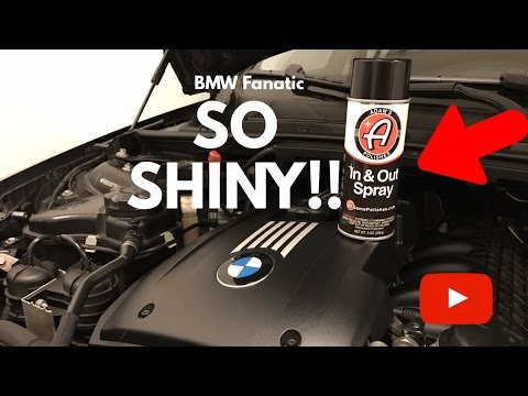 How To Really Shine Up That BMW Engine Bay!