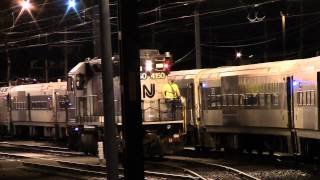 Railfanning Long Branch with ALP-46s on both ends of a train, RARELY SEEN Yard Switching and More