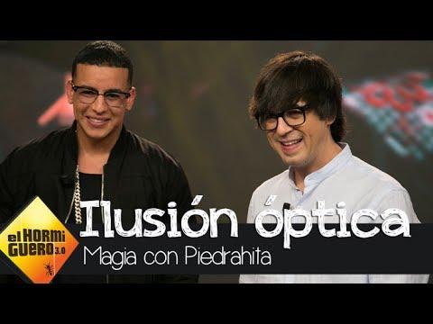 Luis Piedrahita deja con la boca abierta a Daddy Yankee con su truco - El Hormiguero 3.0