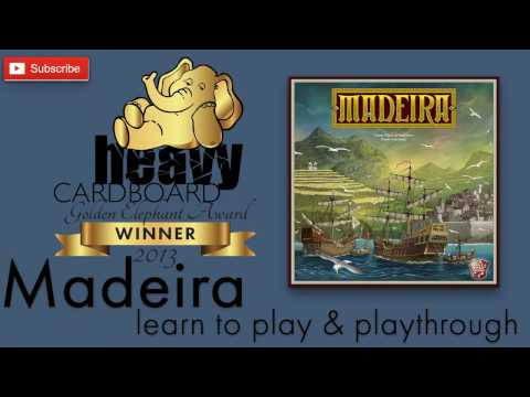 Madeira 3p Play-through, Teaching, & Roundtable discussion by Heavy Cardboard