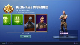 BUYING SEASON 4 BATTLE PASS! Fortnite season 4 update! 5 FREE TIERS!