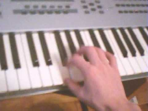 children of bodom - bed of razors tutorial on keyboards