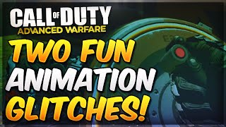 COD Advanced Warfare - 2 Funny Animation Glitches! (Fast Plant/Disarm Bomb & Stinger Glitch)