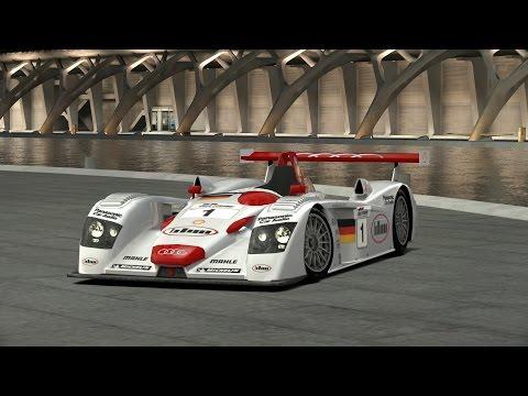 GranTurismo 6 : [v2.0] 280+ MPH Audi R8 LMP 2001 Setup