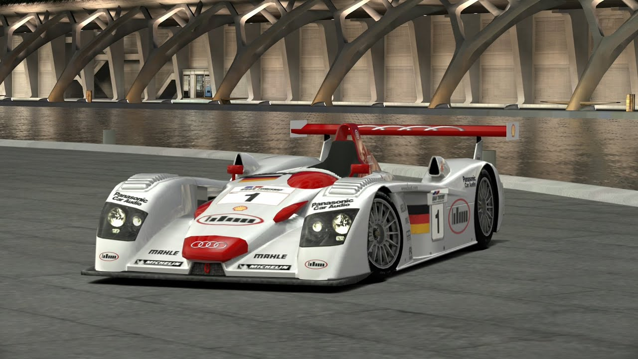 GranTurismo V MPH Audi R LMP Setup YouTube - Audi r8 race car 01 gt6