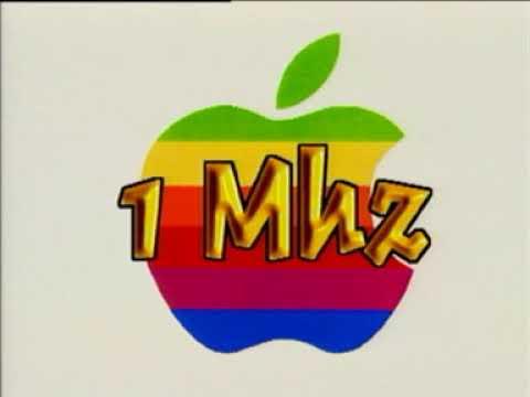 Apple 2 / Apple II - Presentation Canal + Multimedia
