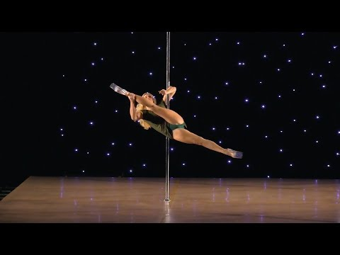 Katie Cooper - 1st Place Floorwork And Low Flow PSO Southeast Pole Championships 2017