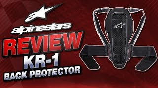 alpinestars back protector guide