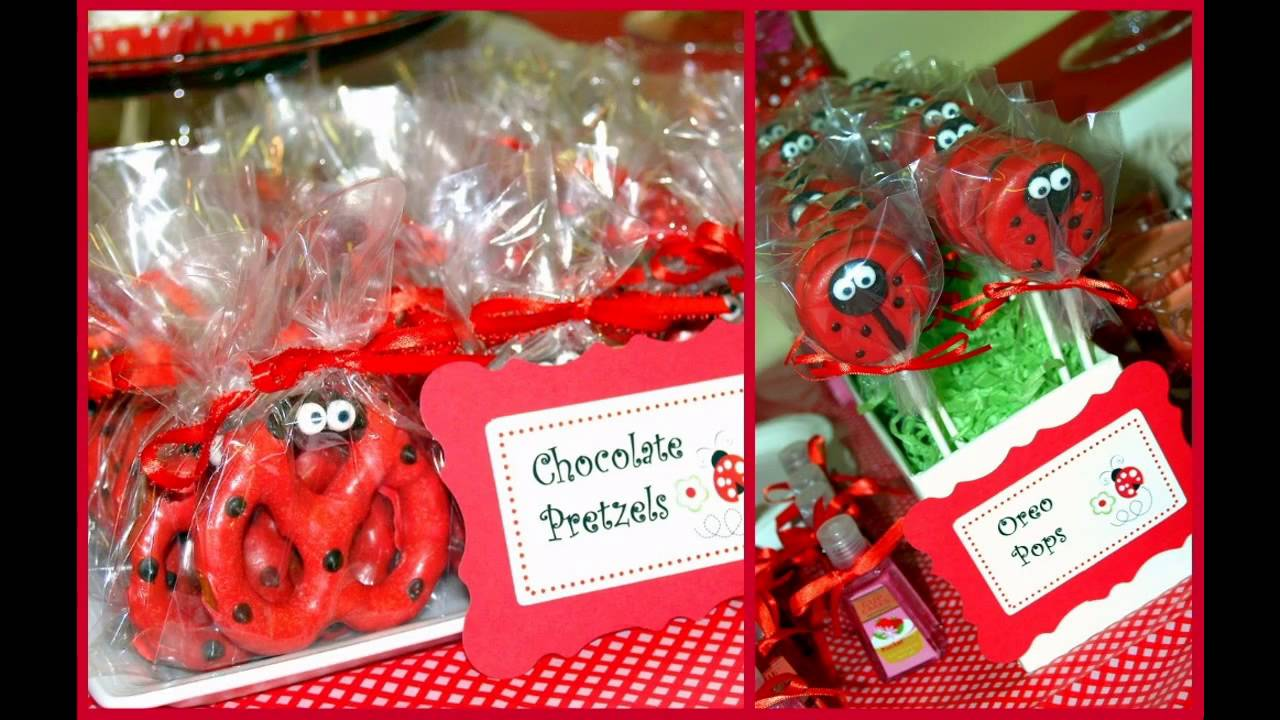 Baby Shower Favors Ladybug ladybug baby shower themes decorating ideas - youtube