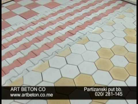 Art Beton art beton podgorica - youtube
