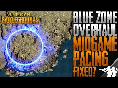 PUBG Developers are Fixing the Slow Mid-game Pacing | Blue Circle Speed and Timer Overhaul Test