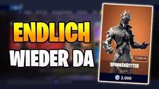 ENDLICH WIEDER DA Spinnenritter 🕷️😱 Fortnite Shop Heute 27.4 | Item Shop 27 April