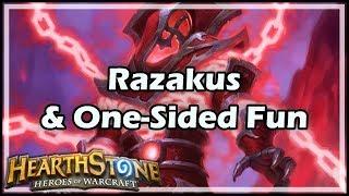 [Hearthstone] Razakus & One-Sided Fun