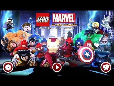 LEGO® Marvel Super Heroes  -  Супергерои  marvel в мире LEGO на Android