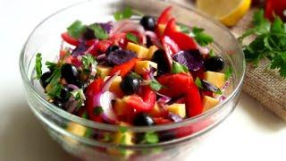 видео Приготовить салаты без майонеза, легкие рецепты салатов без майонеза