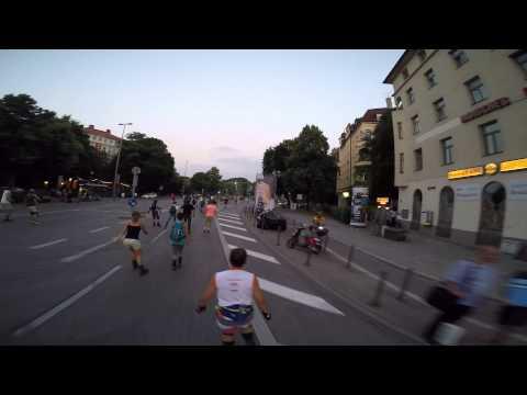 #AOKBladeNight München 06.07.2015 Tierpark route