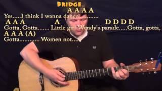 kiss prince strum guitar cover lesson with chords lyrics a d e
