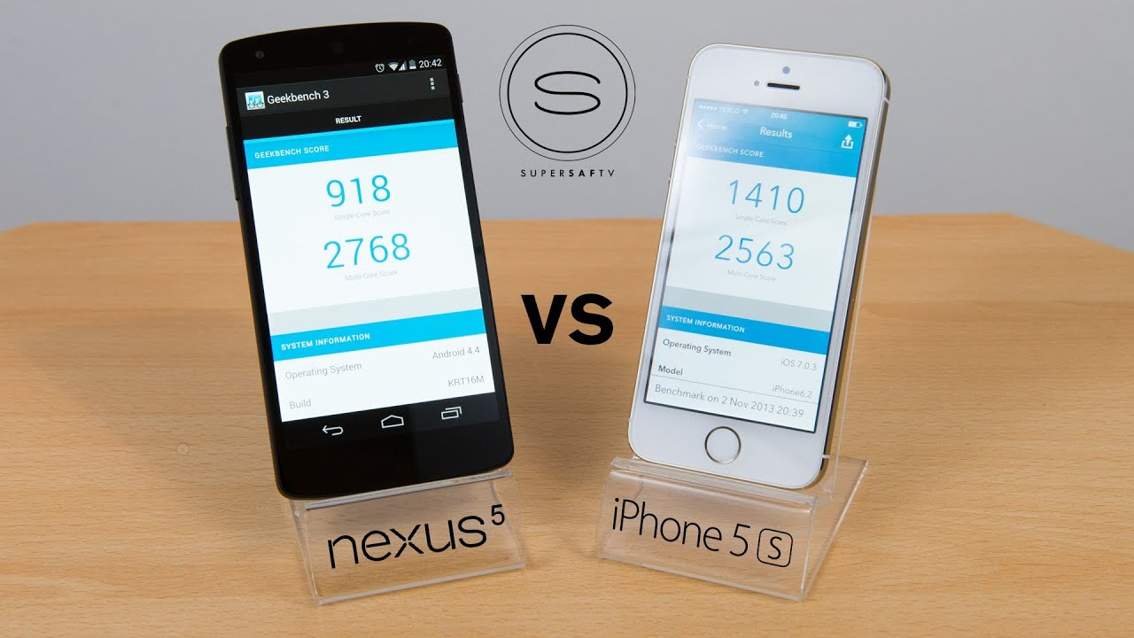 Nexus 5 vs iphone 5s benchmark speed test youtube ccuart Gallery
