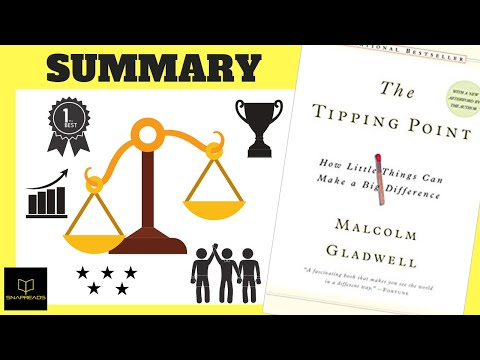 The Tipping Point by Malcolm Gladwell   Animated Book Review Mp3