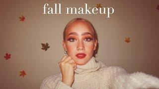 Fall Makeup Tutorial Autumn Leaves