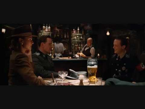 Inglourious Basterds Extended Bar Scene 2nd Anniversary ...