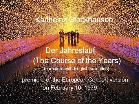 Karlheinz Stockhausen, Der Jahreslauf (1977)