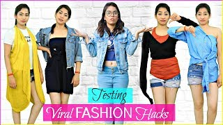VIRAL Fashion HACKS - Expectation vs Reality | #Trends #DIY #Teenagers #Fun #Anaysa