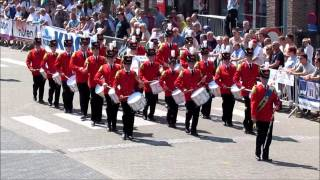 Drumband Wilhelmina Numansdorp @ Hamont - 08-06-14