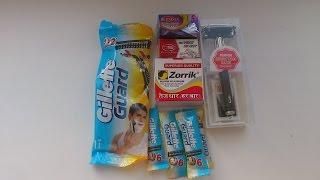 лезвия и станок т образный Feather для бритья и есчо Gillette Guard