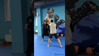 Тренировка по кикбоксингу/боксу 👊🏻🥊