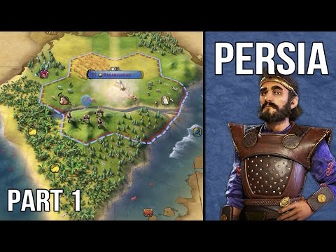 Let's Play Civilization 6 Persia Gameplay (1440p) - Part 1: In the Shadow of Mount Everest