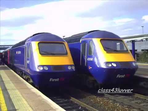 good bye to the first great western high speed train