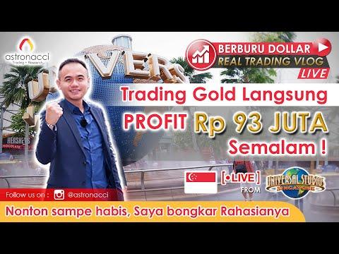 🏅 Rahasia Trading Gold Super Mudah Langsung Profit Rp93 Juta Semalam | BERBURU DOLLAR Eps 7