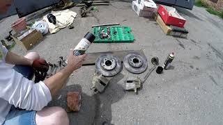 Очистители тормозов - небольшой тест и обзор.