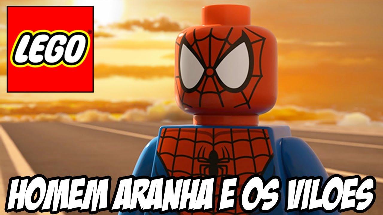 Lego Marvel Super Heroes Homem Aranha E Seus Viles