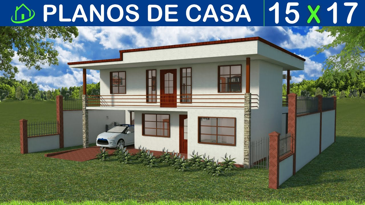 Disenos de casas de dos niveles pictures to pin on for Disenos para casas