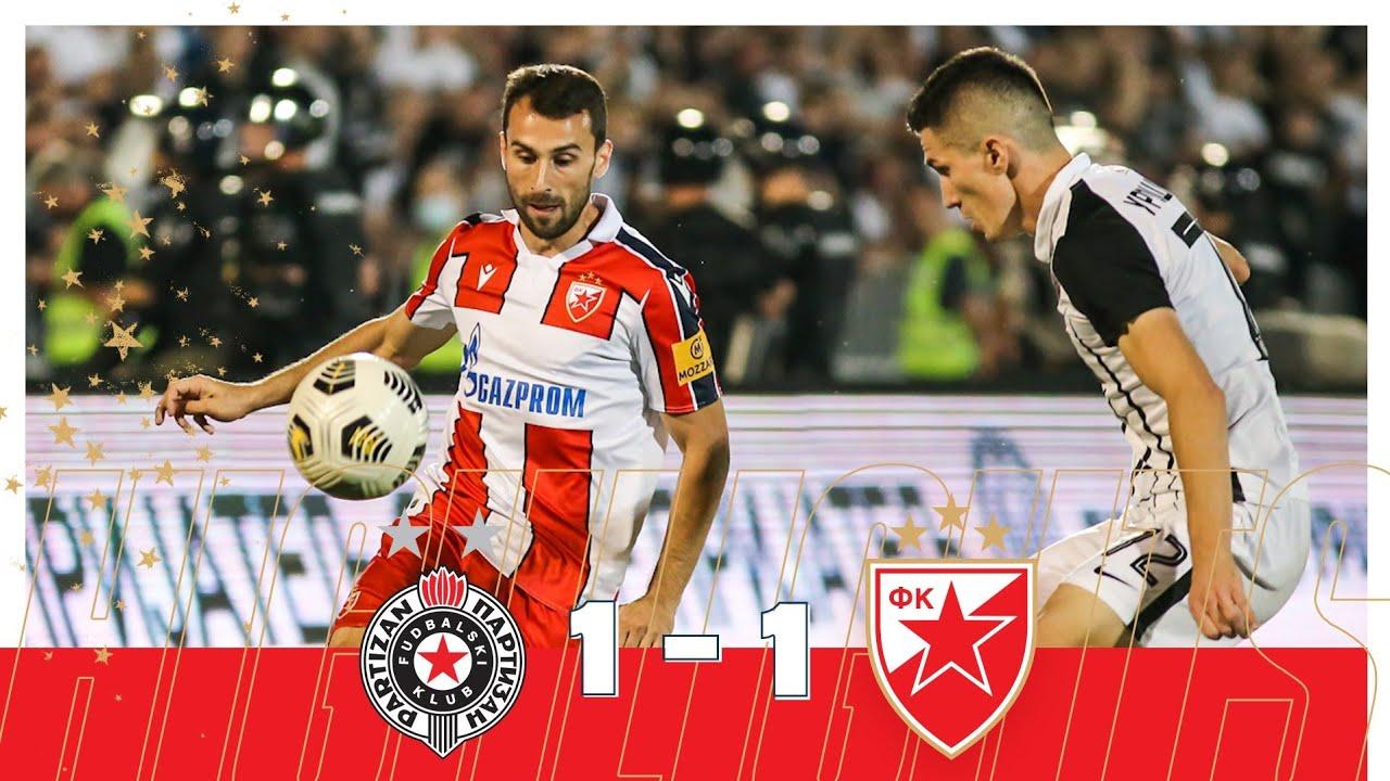 Download Partizan - Crvena zvezda 1:1, highlights